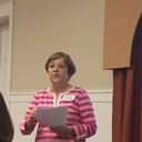Sally speaks to the CCW about the Visitation Ministry
